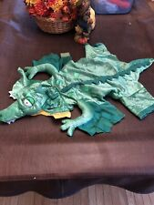 """Alligator Dragon DOG COSTUME Puppy Apparel Halloween Outfit SIZE LARGE 18"""" EUC"""