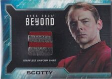 STAR TREK BEYOND MOVIE SR4 SCOTTY COSTUME UNIFORM RELIC RARE GOLD CUFF VARIANT