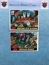 1994 Topps Mars Attack's 1st Day Lot X 2   #53, #37   Creeping Menace