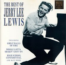JERRY LEE LEWIS : THE BEST OF JERRY LEE LEWIS / CD