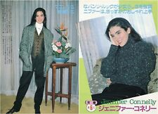 JENNIFER CONNELLY 1986 Japan Picture Clippings 2-Pages #PG/V