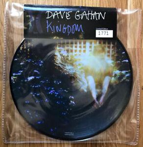 "Dave Gahan - kingdom Ltd Ed Picture 7"" Vinyl No:1433 Sticker Sealed Promo Copy"
