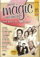 More Magic Moments The Best of 50's Pop DVD Doris Day McGuire Sisters Pat Boone