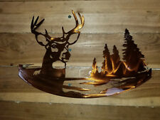Deer and tree's wall art. cnc decore HAND MADE IN WACO TX