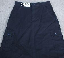 BLACK KHAKI  GIRLS JEAN Skirt - Size - S -W28 X L39. TAG NO. 12X
