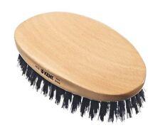 Kent for Men Oval Military Style Beard Hair Grooming Natural Bristle Brush PF22