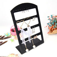 48Holes Earring Rings Jewelry Plastic Display Rack Stand Organizer Holder MoldSN