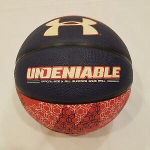 Under Armour Undeniable Armour Street Ball Official Size, All Surface Game Ball
