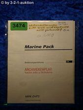 Sony Bedienungsanleitung MPK DVF3 Marine Pack (#3474)