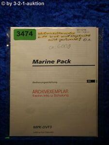 Sony Manual Mpk DVF3 Navy Pack (#3474)