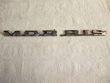 t1 altes Original Oldtimer Emblem Schriftzug Typenschild Marke US-Car MORRIS