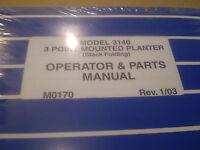 Details about  /Kinze Model 2500 Twin Line Planter Operators /& Parts Manual