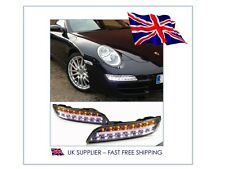 2004-2009 PORSCHE 911 997 Gen 1 - LED Daytime DRL Bumper Lights Lamps - UK STOCK