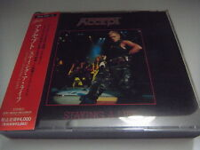 ACCEPT-Staying A Life JAPAN 1st.Press w/OBI U.D.O. Scorpions Judas Priest Rush