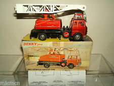 DINKY TOYS MODEL No.970 JONES FLEETMASTER CANTILEVER CRANE VN MIB