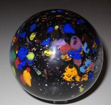 "Hand made SAMMY Sam Hogue HUGE 3"" Marble MULTI color GUINEA"