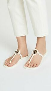 Tory Burch Mini Miller Jelly in Ivory Size 9 New In Box FREE SHIPPING