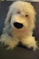 Disney Promotional Products The Little Mermaid Dog Max Stuffed Plush Fuzzy Cute