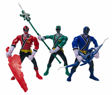 "Bandai Power Rangers Super Samurai 6"" Feature Action Figures Bundle"