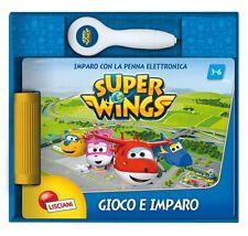 SUPER WINGS LIBRO PENNA ELETTRONICA QUIZ GIOCO EDUCATIVO 3-6 ANNI LISCIANI