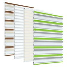 Day and night zebra vision window roller blinds rebra blinds striped multi sizes
