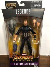 "Captain America Marvel Legends 6"" Action Figure Thanos Infinity War Series"