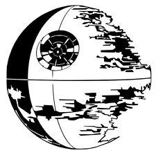 StarWars Death Star vinyl car Decal / Sticker