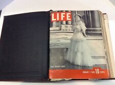 Lot 12 Life Magazine Jan 1 - Mar 25 1940 Queen of Britain Elizabeth LANA TURNER