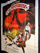 L'ILE MYSTERIEUSE mysterious island !  jules verne , nemo ; nautilus cinema 1973