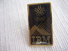 Vintage Collectible IBM Advertising Canada Olympic Pin Calgary 1988 - P15