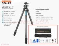 【US Dealer】Leofoto LS-323C Pro Carbon Fiber Tripod w/ LH-40 Ball Head/ RRS Gitzo