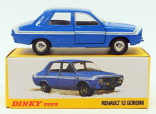 Atlas Editions Dinky Toys Model Car 1424G - Renault 12 Gordini - Blue