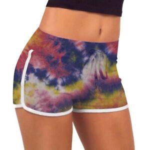 Fashion Ladie Summer Beach Casual Shorts Elastic Waist Loose Hot Pants Plus Size