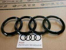 Original Audi /A6,A7,A8,Q2,Q8 / Audi Ringe schwarz Grill 4H0853605C T94