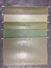 LOT OF 5 Hanging Folders Legal 9 1/2 x 14 3/4 Globe-Weis, File-Pro, Pendaflex