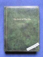 Original THE JEWEL OF THE NILE Script 18 PHOTOS MICHAEL DOUGLAS KATHLEEN TURNER