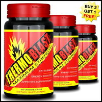 THERMO BLAST WEIGHT LOSS SLIMMING CAPSULES FAT BURNER PILLS STRONGEST LEGAL DIET