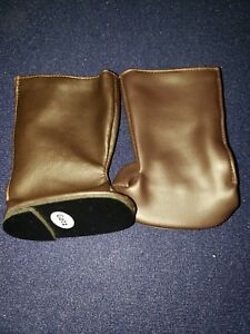 """Cowboy boots fits other gotz and other 18"""" doll 3 x2 1/2 """" soles"""