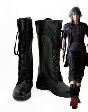 Final Fantasy 15 FF15 Noctis Lucis Cosplay Boots Shoes Custom Made Any Size