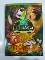 El Libro de La Giungla Disney 2 X DVD Regione 2 Spagnolo Latino Americano Libro