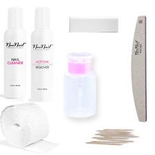 NeoNail Cleaner Aceton Nagelfeile Zelletten Pumpflasche Ergänzungsset Zubehör