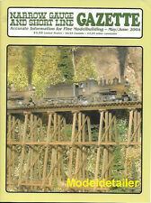 Narrow Gauge Gazette May 04 C-16 Redwoods D&RG Pacific Coast Lighthouse Watercar