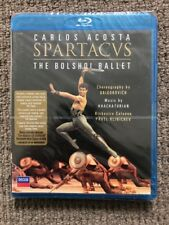 Spartacus - Carlos Acosta - The Bolshoi Ballet (Blu-ray) NEVER PLAYED & SEALED