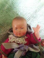 Sweet francés antiguo Vintage muñeca bebé Celuloide Colección O Antigua Casa De Muñecas