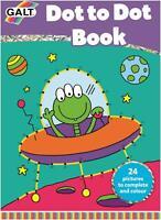 Galt DOT TO DOT BOOK Kids Art Craft Toy BN