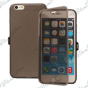 """Accessoire Housse Coque Etui Portefeuille Livre GRIS Apple iPhone 6S Plus 5.5"""""""