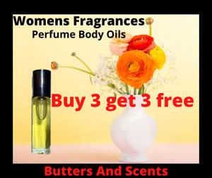 Perfume Body Oils For Women-Pick Your Fragrance