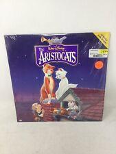 The Aristocats Laserdisc Walt Disney Still In Shrink