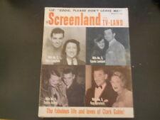Clark Gable, Nancy Kwan, Troy Donahue - Screenland Plus TV-Land Magazine 1961