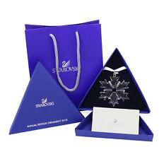 2018 Swarovski Crystal Snowflake ANNUAL EDITION LARGE CHRISTMAS ORNAMENT 5301575